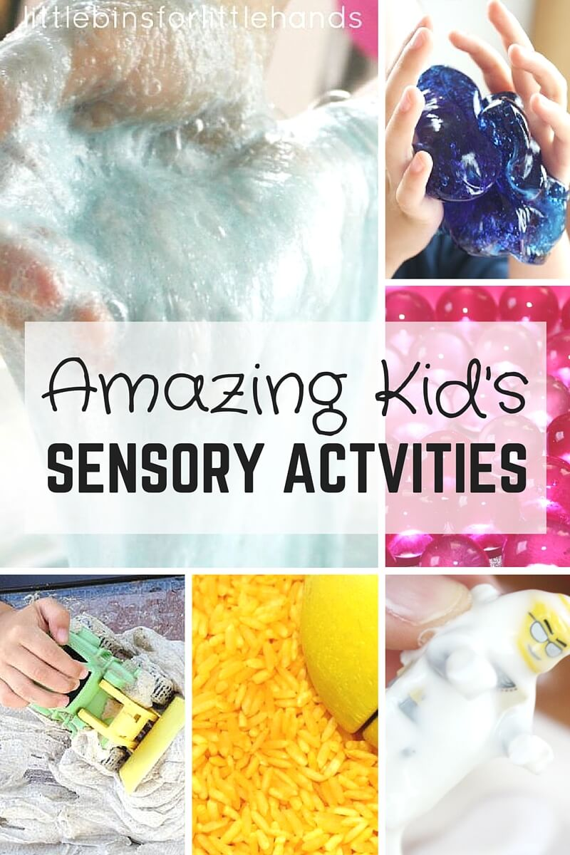 Amazing sensory activities for kids.