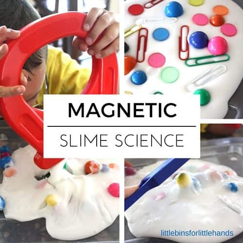 Magnetic Slime STEM Activity Preschool Kindergarten Science
