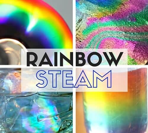 Making Rainbows STEM Experiments for Kids
