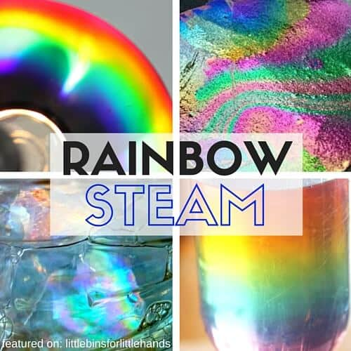 Making Rainbows STEM STEAM Activities for Kids Spring STEM Science-2
