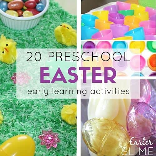 Preschool Easter Activities Science Stem And Sensory Play