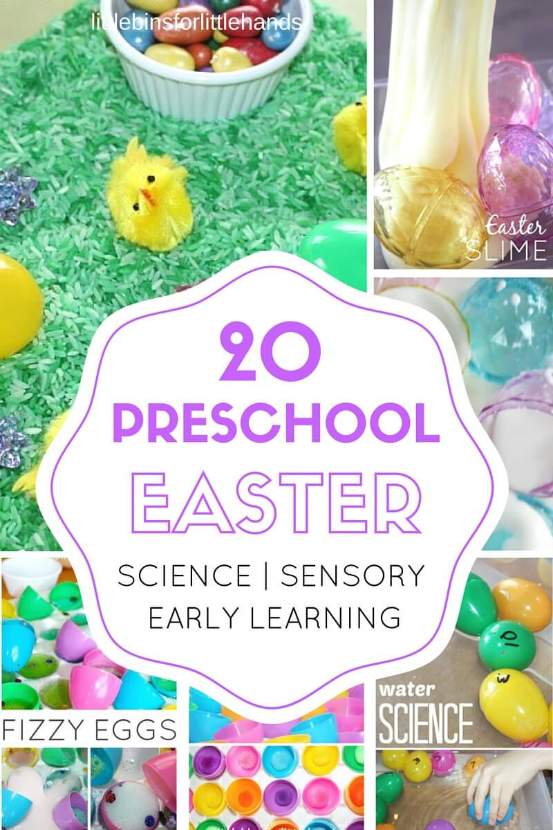 easter for preschoolers preschool easter activities science stem and sensory play 59829