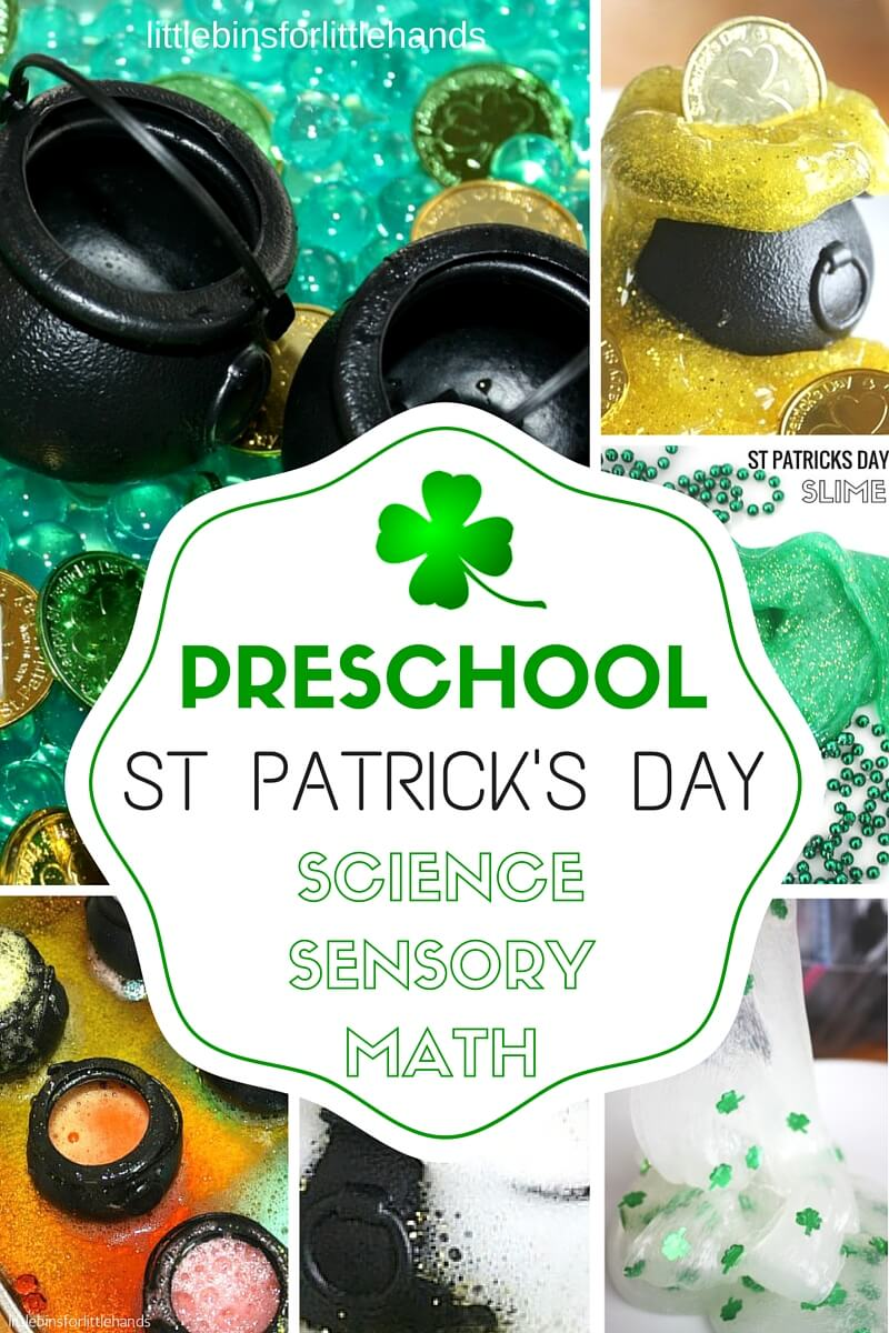 Preschool St Patricks Day Activities Science Experiments