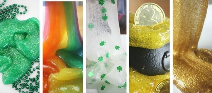 St Patricks Day STEM Activities Slime Science