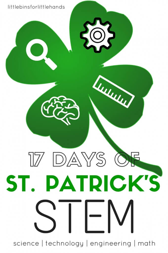 St Patricks Day STEM Countdown Science Activities