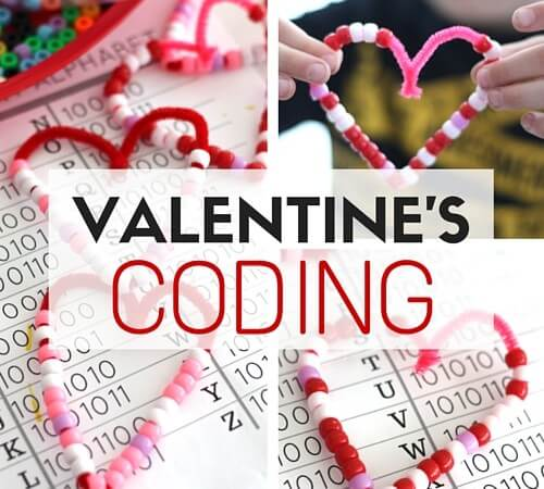Valentines Day Coding STEM Activity