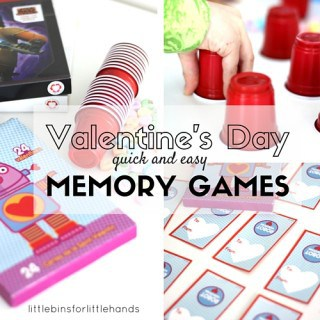 Valentines Day Memory Games Quick and Easy Valentines Activity