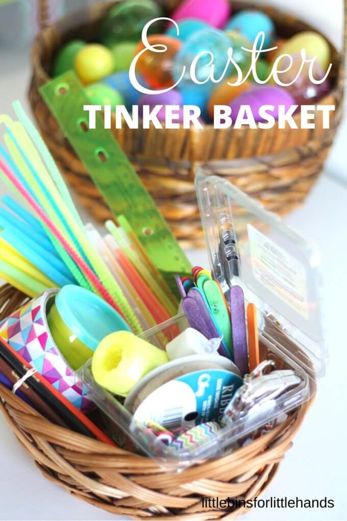 Easter STEM kit and tinkering activity for kids