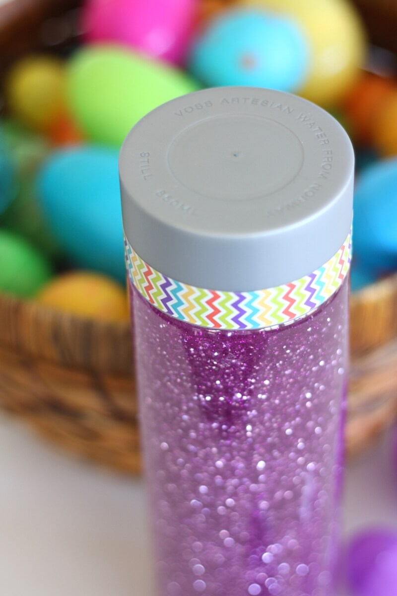 Easter Sensory Bottle Simple Sensory Activity For Kids