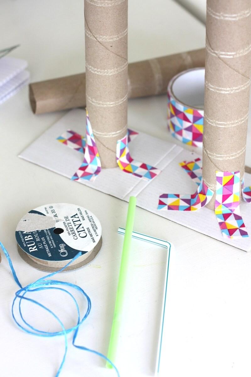 Build A Winch Simple Machine Activity For Kids Stem
