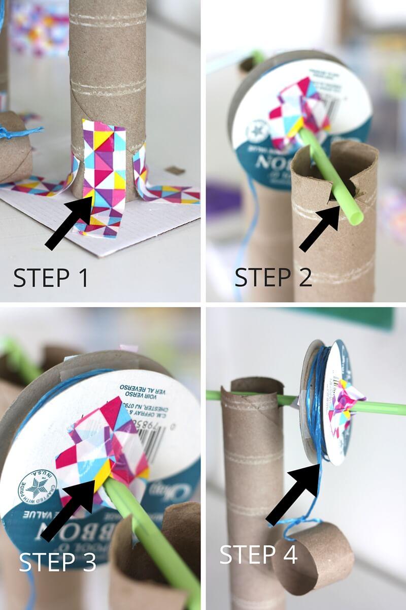 How to make a machine out of paper