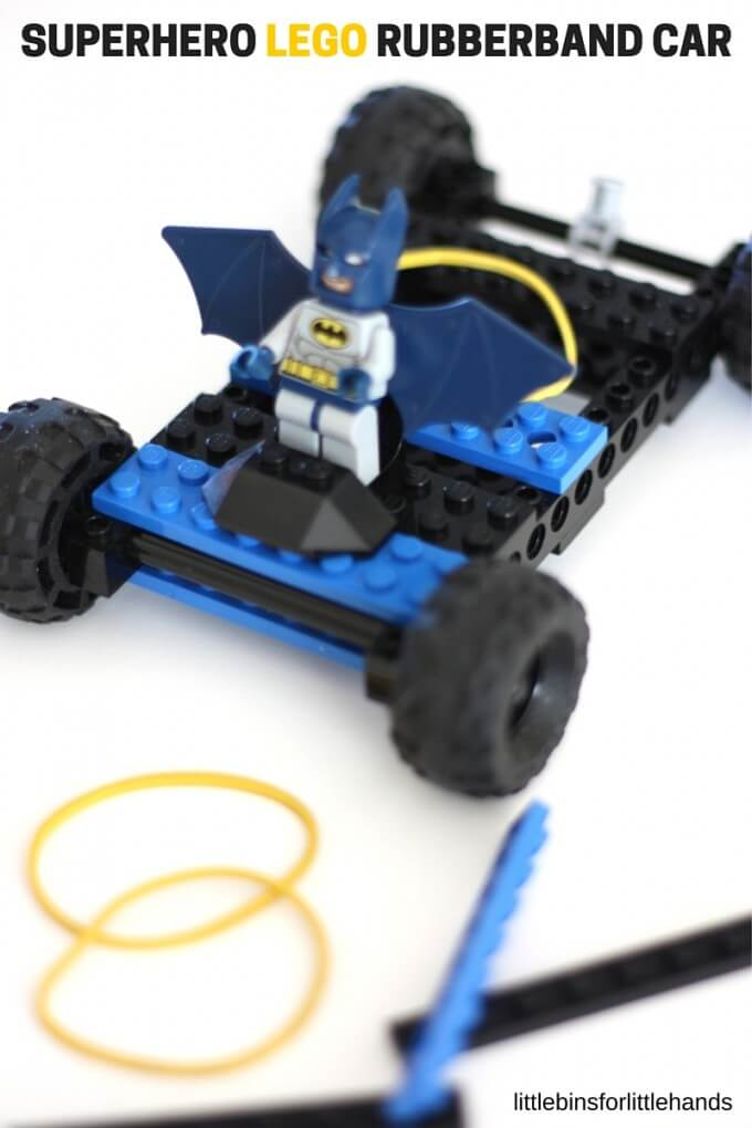 how to make a rubber band car with cd wheels