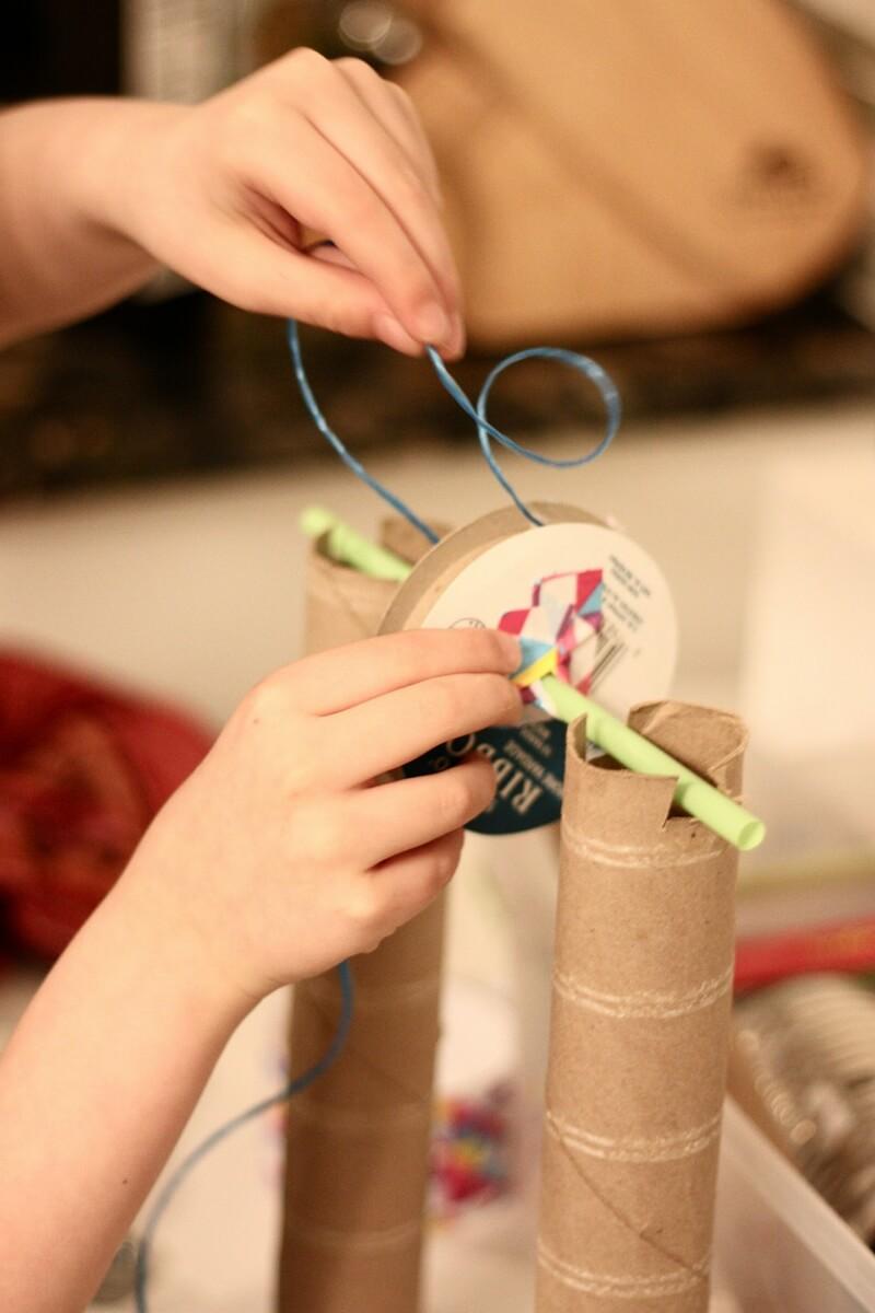 Build A Hand Crank Winch | Little Bins for Little Hands