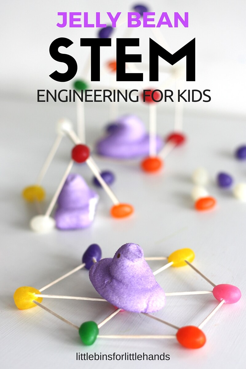 Building With Jelly Beans Easter Stem And Engineering For Kids on Construction Lego Worksheets