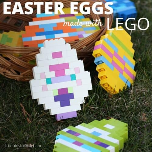 LEGO Easter Eggs Building Idea for Kids