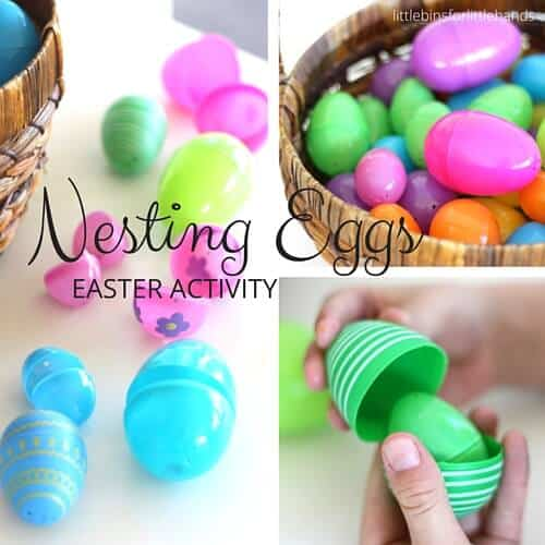 Nesting Eggs Easter Activity