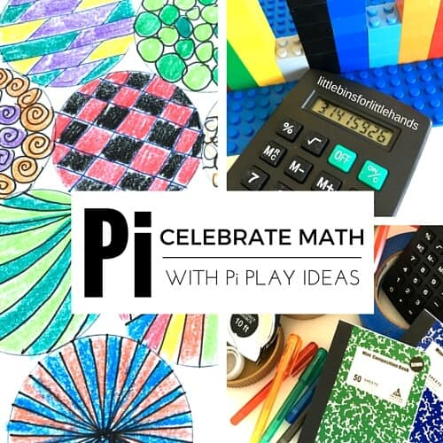 Pi Math STEAM activities for kids kindergarten early elementary math