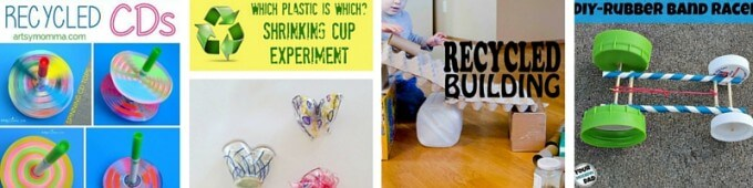 Recycled STEM Challenges