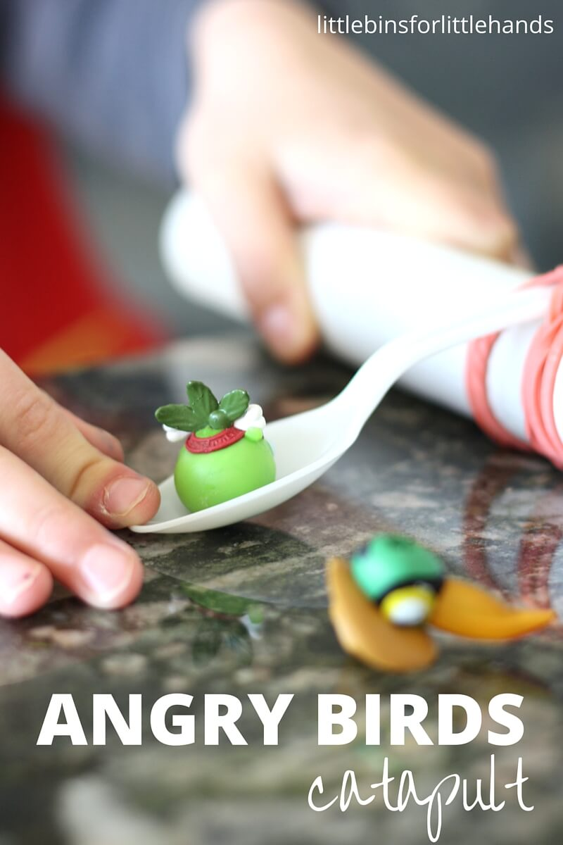 Angry Birds Plastic Spoon Catapult For Kids Stem