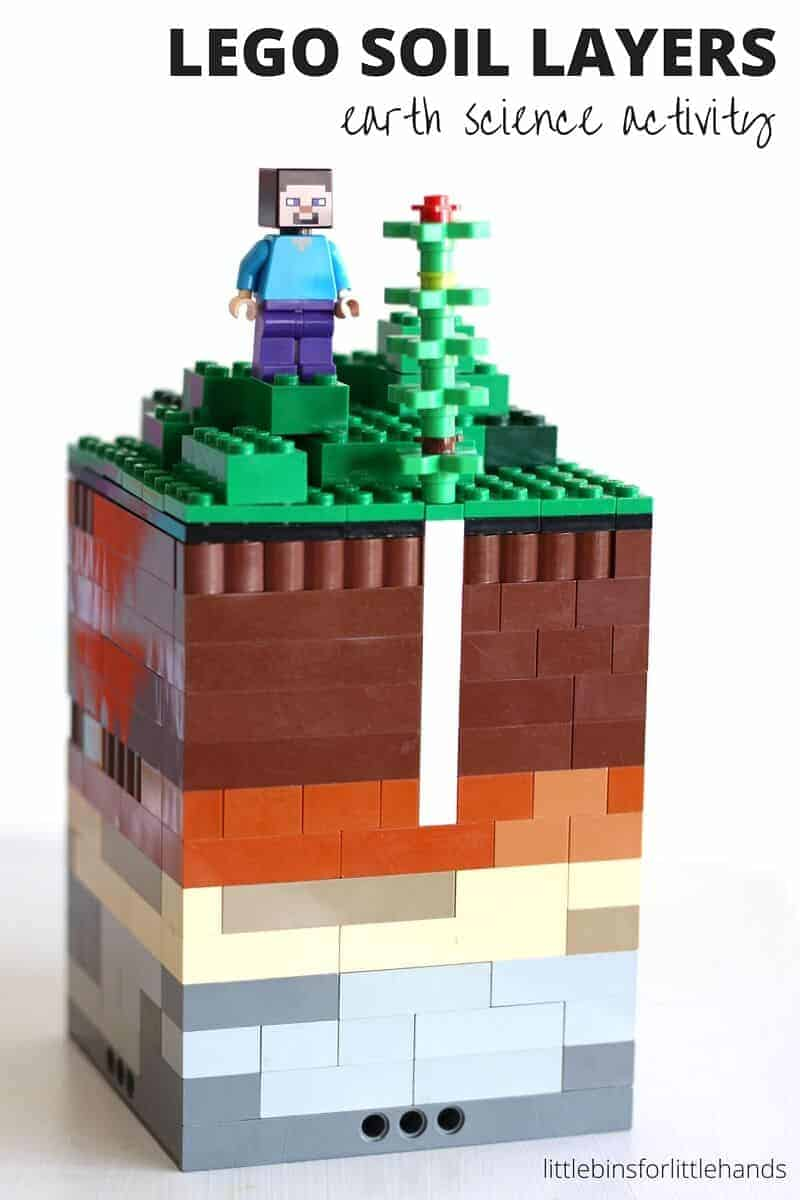 Soil Layers Activity With LEGO for Kids Earth Science STEM – Layers of Soil Worksheet