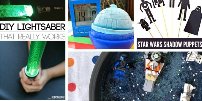 Star Wars Science Activities for Kids STEM