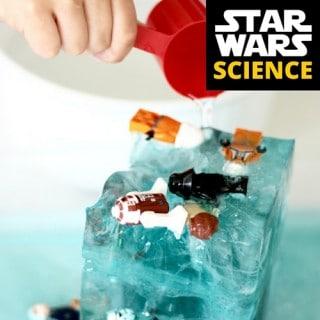 LEGO Star Wars Science Ice Melt Activity