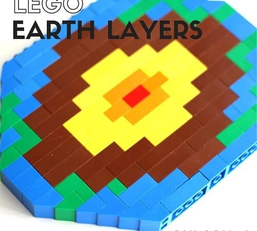 LEGO Layers of the Earth Activity