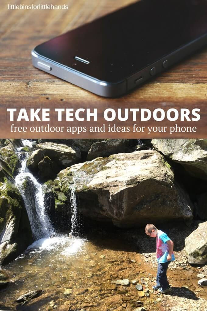 take technology outdoors