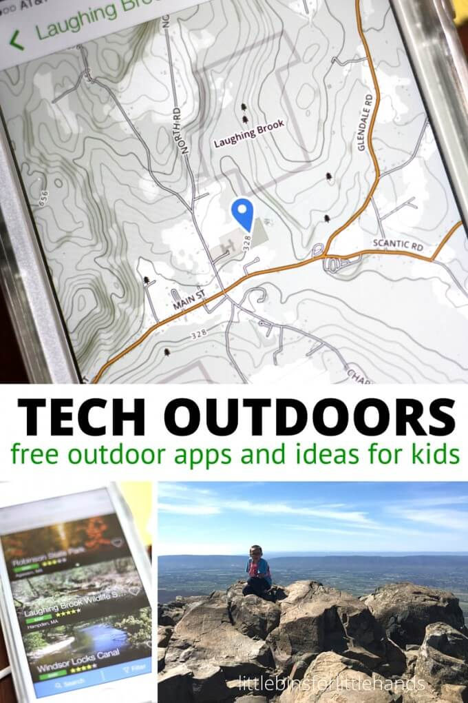 Take technology outdoors with free outdoor apps and ideas to use with your phone