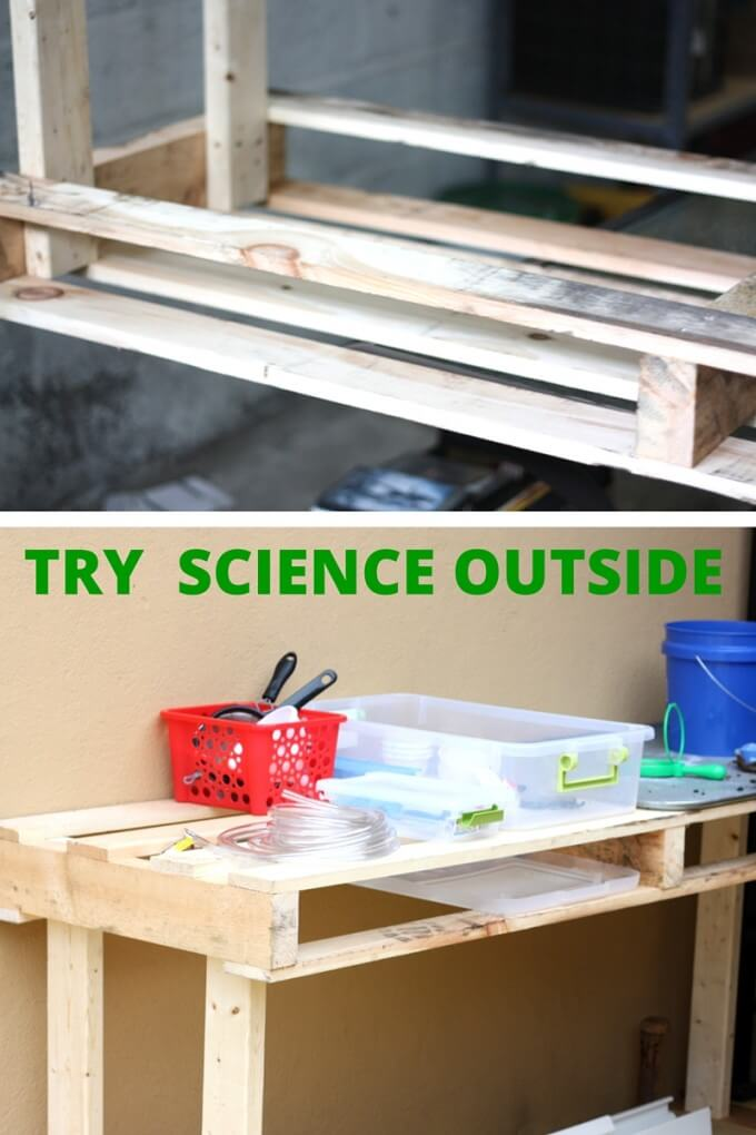 DIY Science Table