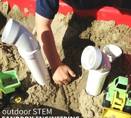 Engineering Play Sandbox Building Activity