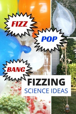 Fizzing science experiments chemistry activities for kids STEM