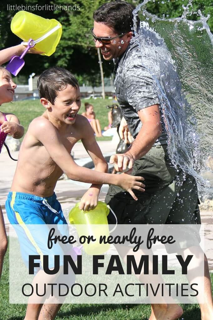 Free or nearly free family activities outdoors