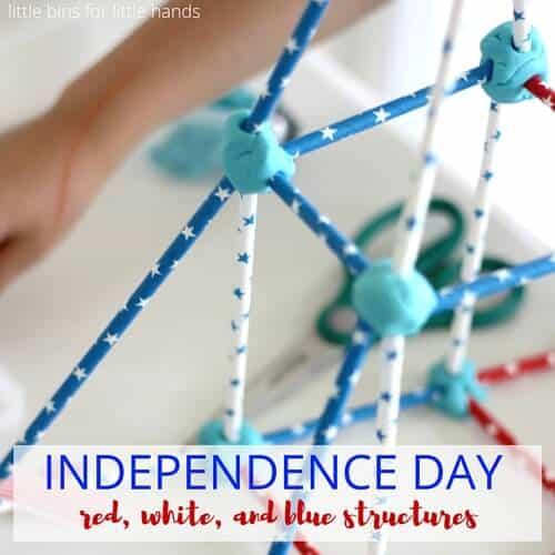 Independence Day building structures 4th of July Activity-2