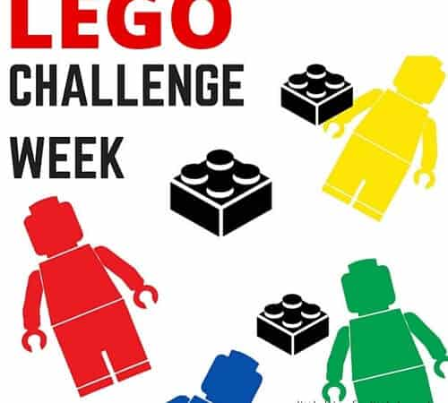 Summer STEM Week 1: LEGO Building Challenge