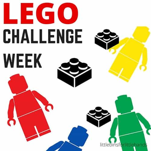 LEGO building challenge week for kids summer STEM backyard camp