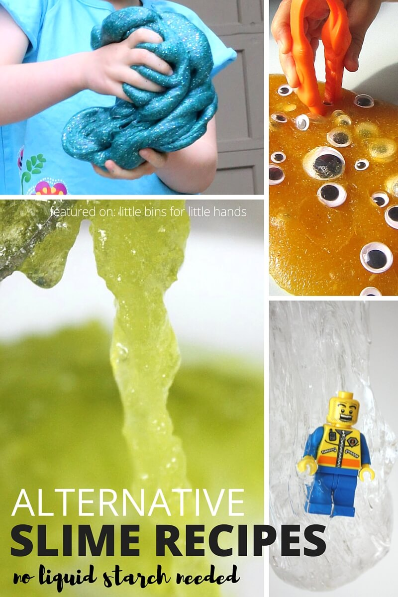How To Make Saline Solution Slime Recipe for Kid's Science
