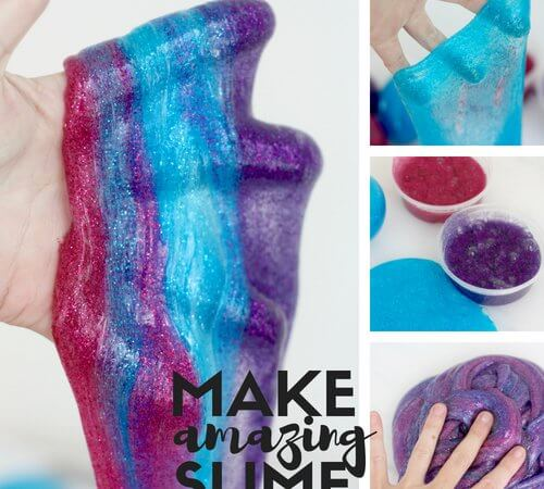 Discover how to make slime quickly and easily with your kids!