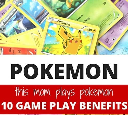 This Mom Plays Pokemon! The Benefits of Pokemon Card Game for Kids.