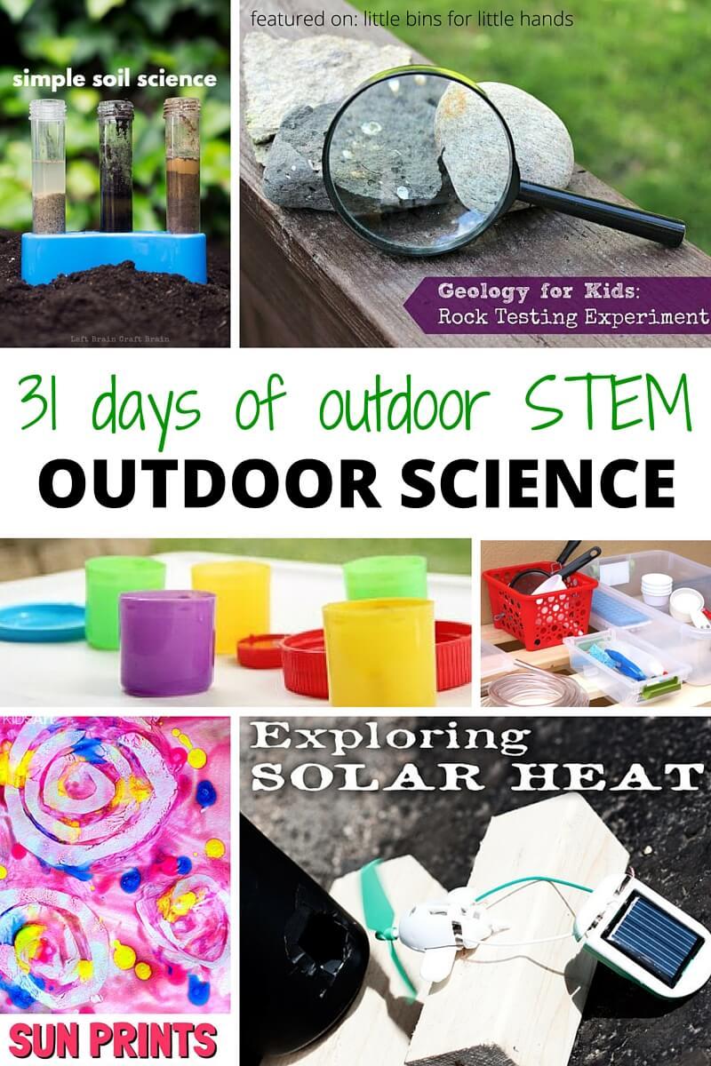 Outdoor Science Activities For Kids Outdoor Stem