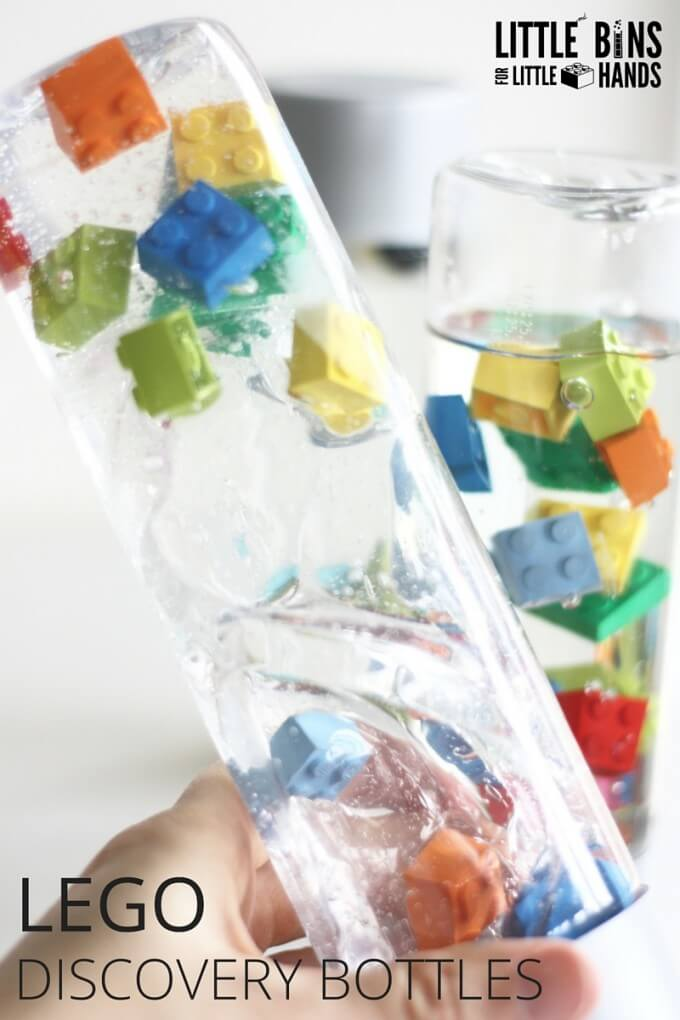 LEGO Discovery Bottles Exploring Viscosity