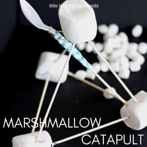Marshmallow Catapult Activity For Kids Stem