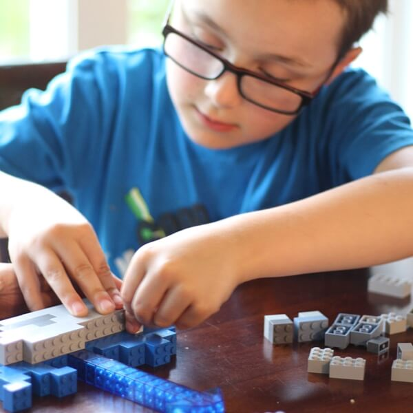 building LEGO sea creatures