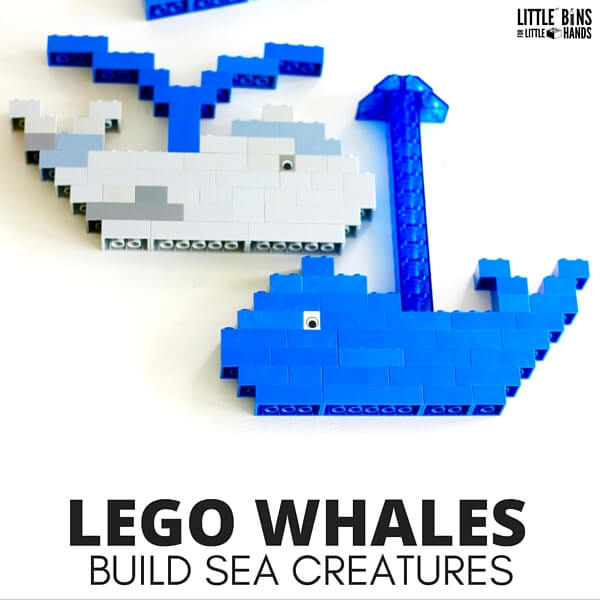 LEGO whales