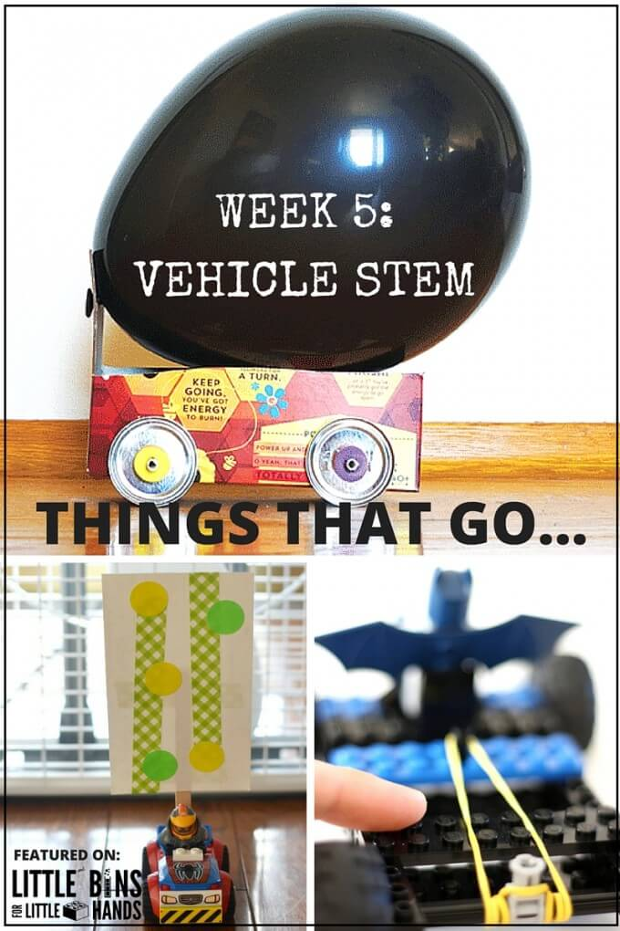 Building Vehicle STEM Activities for STEM activities and science activities that kids love!