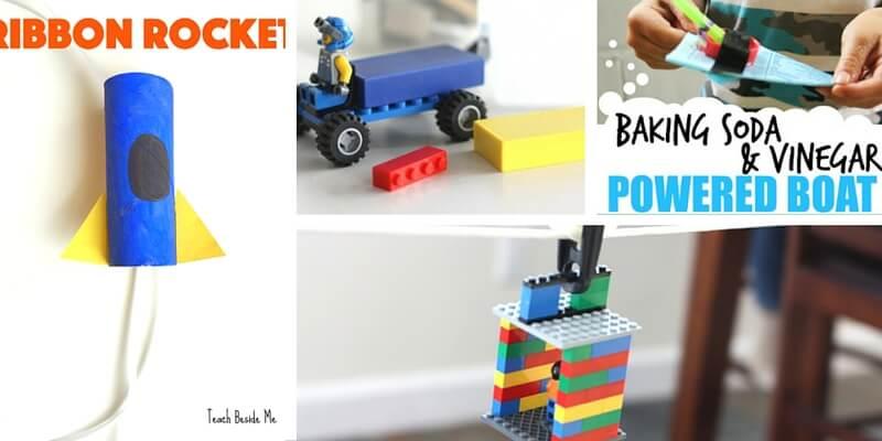 building vehicle stem activities for kids