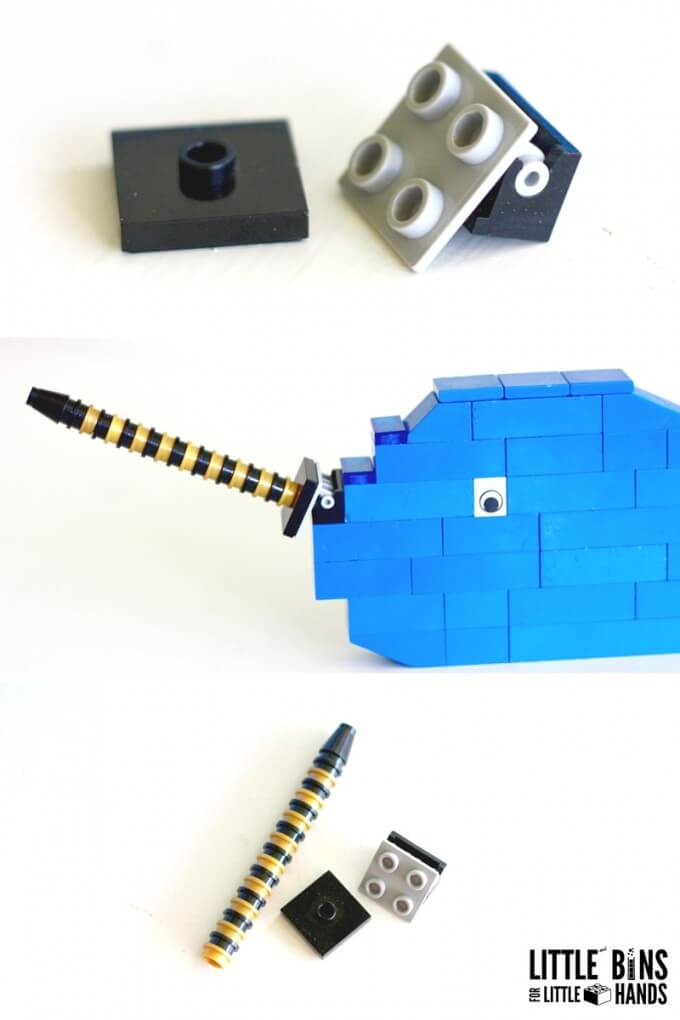 Building a LEGO Narwhal
