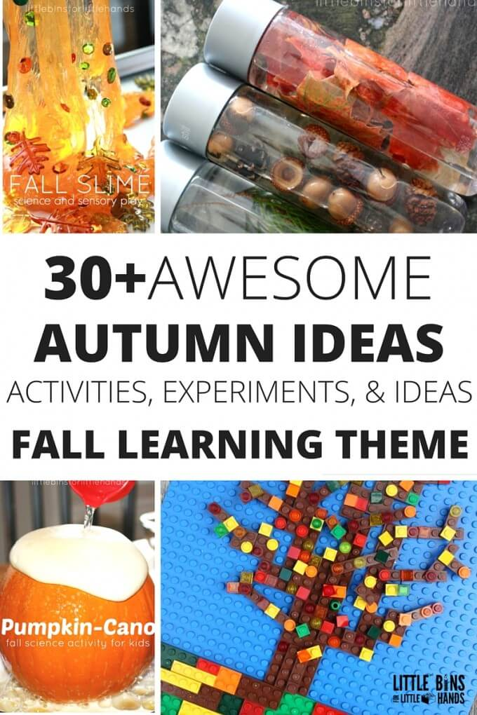 Fall Learning Ideas for Kids