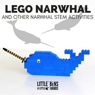 LEGO Narwhal Activity and STEM-2