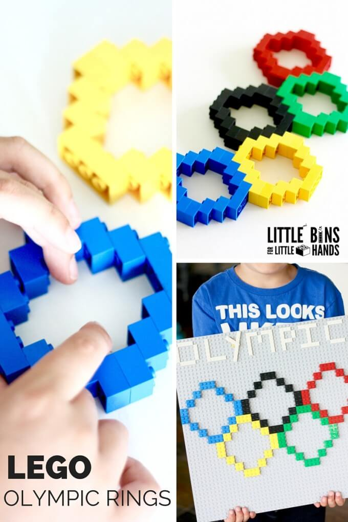 LEGO Olympic Rings Activity